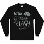The Pogues Black Rum Long Sleeve T-Shirt