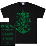 The Pogues Anchor 2011 Tour T-Shirt