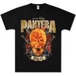 Pantera Outlaw Skull T-Shirt