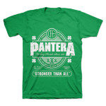 Pantera Stronger Than All St. Paddy's T-Shirt