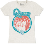 Queen Band Photo Girls' Fitted T-Shirt