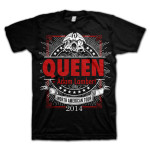 Queen + Adam Lambert Geometric Logo T-Shirt