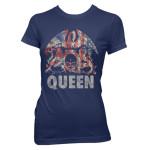 Queen American Crest Babydoll