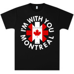 Red Hot Chili Peppers Montreal Event T-Shirt