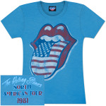Rolling Stones NA Tour '81 Girlie T-Shirt