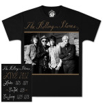 Rolling Stones 50th Anniversary Black & White T-Shirt