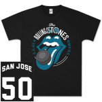The Rolling Stones 50 And Counting San Jose Event T-Shirt