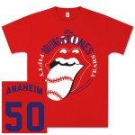 The Rolling Stones 50 And Counting Anaheim Event T-Shirt