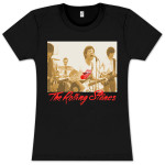 Rolling Stones Sepia Band Photo Babydoll T-Shirt