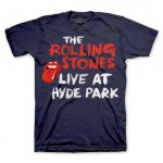 The Rolling Stones Hyde Park Script T-Shirt