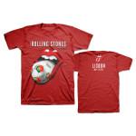 Rolling Stones Lisbon Soccer T-Shirt