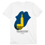 Rolling Stones Stockholm Tower T-Shirt
