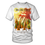 Rolling Stones Roskilde Abstract T-Shirt