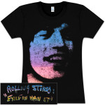 Rolling Stones Mick Exile Girls Fitted T-Shirt