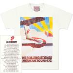 Rolling Stones 1972 Plane Tour Vintage T-Shirt