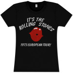 It's the Rolling Stones '73 Girlie T-Shirt