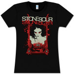 Stone Sour The Mirror Fitted Girlie T-Shirt