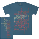 Silversun Pickups Frame Stack Dateback T-Shirt