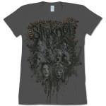 Womens Head Cluster Stitch T-Shirt