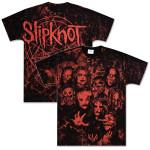 Slipknot Red Photo Allover T-Shirt