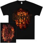 Slipknot Radio Fire Logo T-Shirt