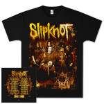 Slipknot Sepia Photo Tour T-Shirt