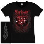 Slipknot Group Shot Girlie T-Shirt