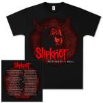 Slipknot Antennas From Hell Dateback Tour T-Shirt