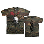 Slipknot Web Exclusive Skull Camo T-Shirt