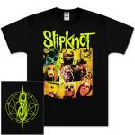 Slipknot Group Square T-Shirt