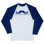 Victoria Justice Mustache Raglan T-Shirt