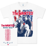 The Wanted Suits Tour T-Shirt