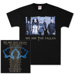 We Are The Fallen Group Photo Tour T-Shirt