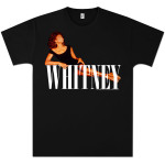 Whitney Houston Lying Logo T-Shirt