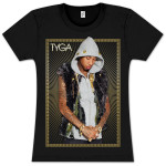 TYGA Gold JR Vest T-Shirt