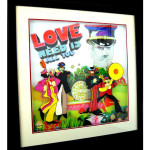 """Yellow Submarine- """"Lonely Hearts Club Band"""" Limited Edition- Hand Painted Portrait"""