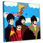 """Yellow Submarine- Canvas - """"Lucy In The Sky With Diamonds"""""""