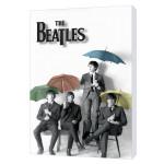 The Beatles Umbrellas Canvas