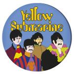 The Beatles – Yellow Submarine Round Canvas