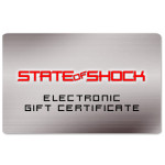 State of Shock Electronic Gift Certificate
