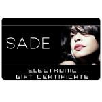 Sade Electronic Gift Certificate