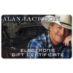 Alan Jackson Electronic Gift Certificate