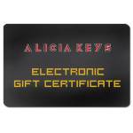 Alicia Keys - Electronic Gift Certificate