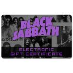 Black Sabbath Electronic Gift Certificate
