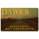 Dawes Electronic Gift Certificate