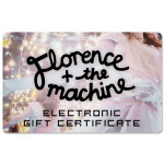 Florence and The Machine Electronic Gift Certificate