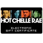 Hot Chelle Rae Electronic Gift Certificate