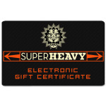 SuperHeavy Electronic Gift Certificate