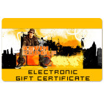 Kevin Rudolf Electronic Gift Certificate