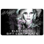 Lady Gaga Electronic Gift Certificate